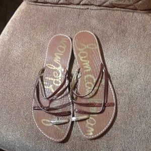 Sam Edelman Multicolor Slip On Slides Sandals